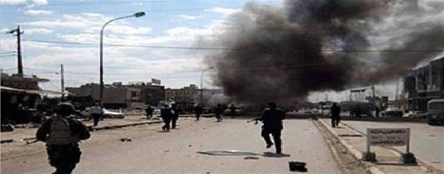 قوات المالكي تدمر مسجدا  و 12 منزلا بالبراميل المتفجرة
