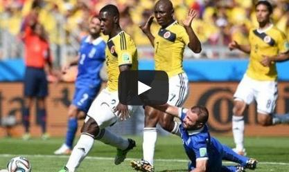 كولومبيا- اليونان:3-0