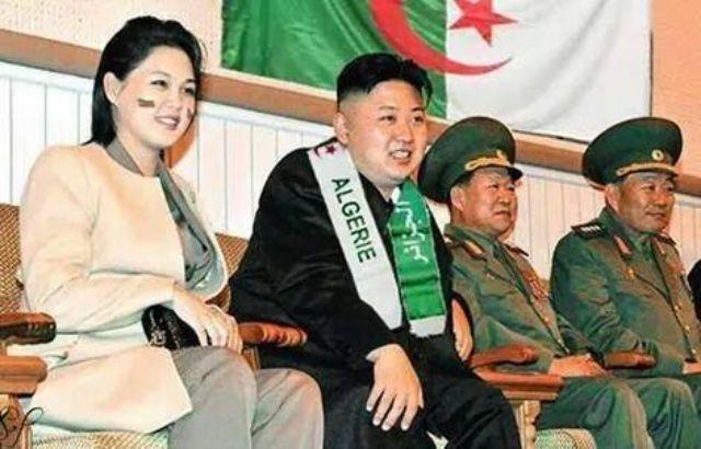 زعيم كوريا الشمالية يشجع المنتخب الجزائري