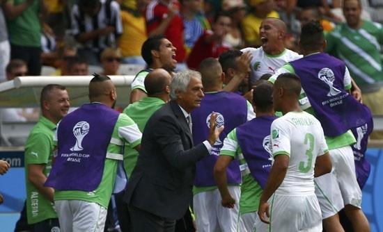 الخضر يحطمون الأرقام العربية والإفريقية في كأس العالم