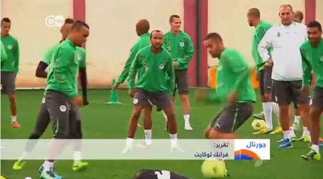 منتخب الجزائر قبيل المونديال