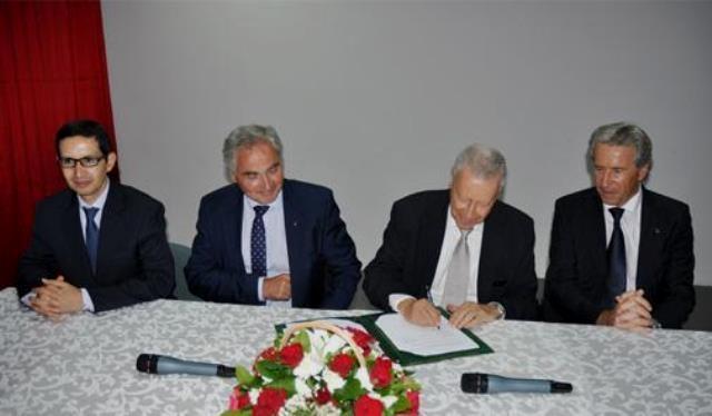توقيع مذكرة شراكة لإحداث شعبة مهن السيارات