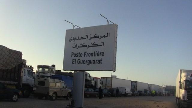استنفار أمني بعد حجز سلاح ناري على المعبر الحدودي بين المغرب وموريتانيا