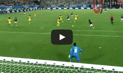 المكسيك في الكاميرون 1-0