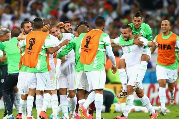 مباراة تاريخية للمنتخب الجزائري أمام الألمان
