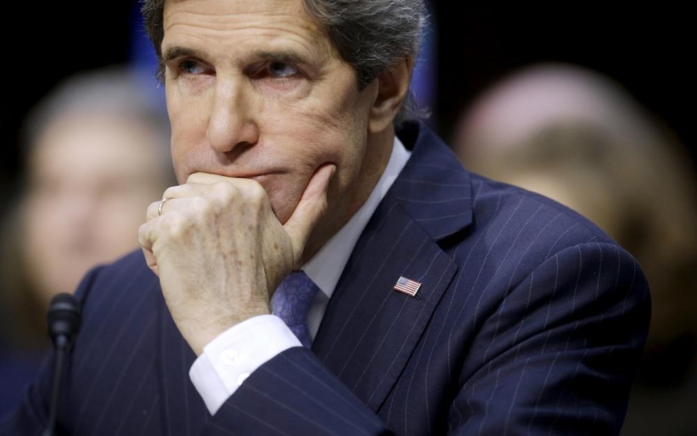المصالحة الفلسطينية تقلق كيري وزير خارجية أمريكا
