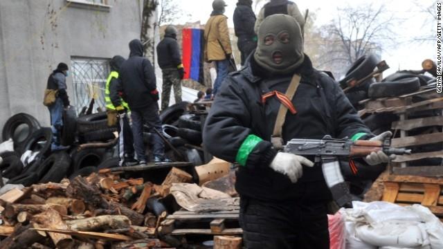 الانفصاليون في أوكرانيا يعلنون وقف إطلاق النار