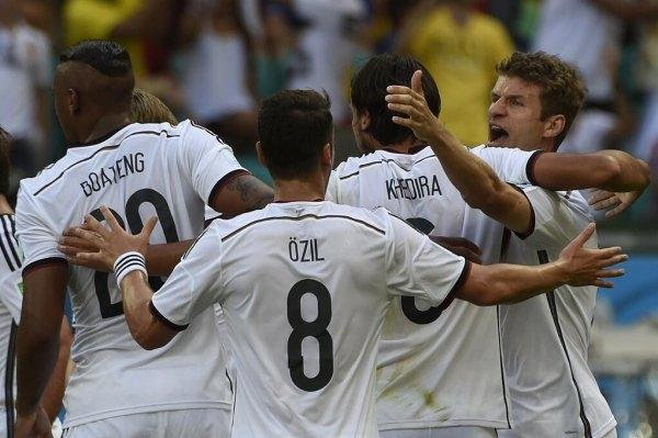 ألمانيا تسحق البرتغال برباعية نظيفة