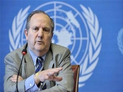 المبعوث الخاص للأمم المتحدة في تونس للنظر في مسالة مقاومة التعذيب