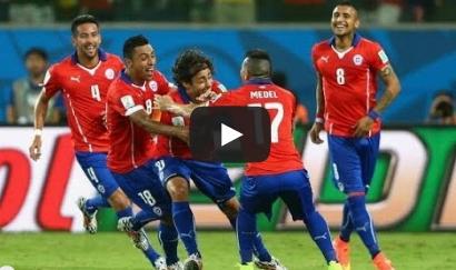 تشيلي و استراليا 3-1