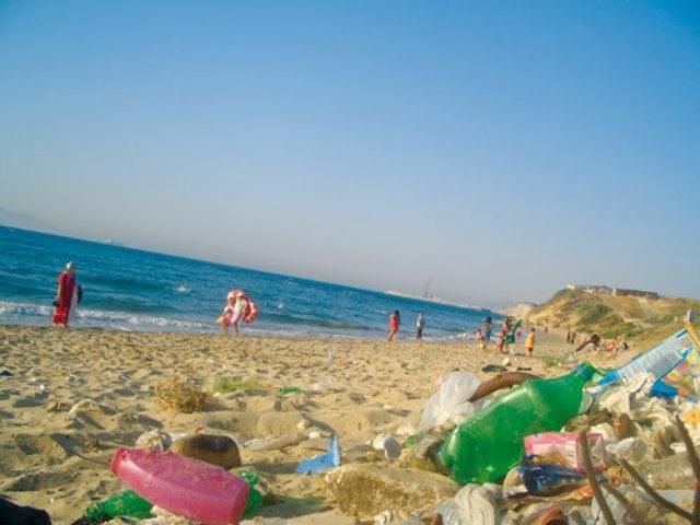 عملية بيئية بالدار البيضاء لدعم لاقطي النفايات