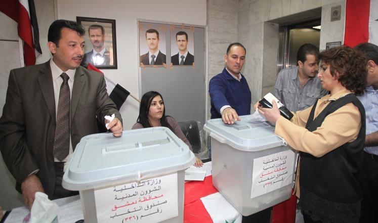 سوريا تدخل اليوم انتخابات الدم المحسومة سلفا