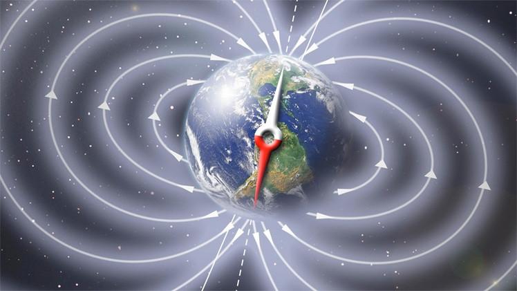 قوة الحقل المغناطسي للأرض على صد الإشعاعات آخذة بالانخفاض