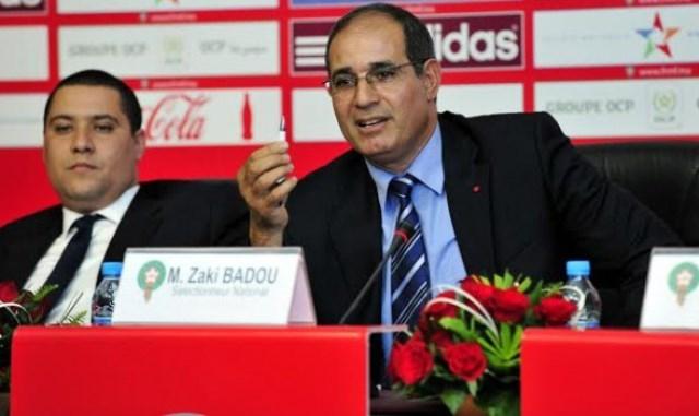 الزاكي يختار مباريات ودية امام منتخبات افريقية