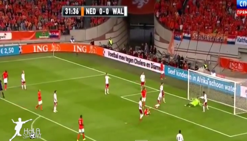 هولندا وويلز 2-0