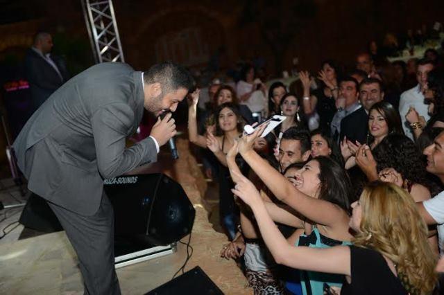 صوت البوب ستار رامي عياش يهزّ جنوب لبنان