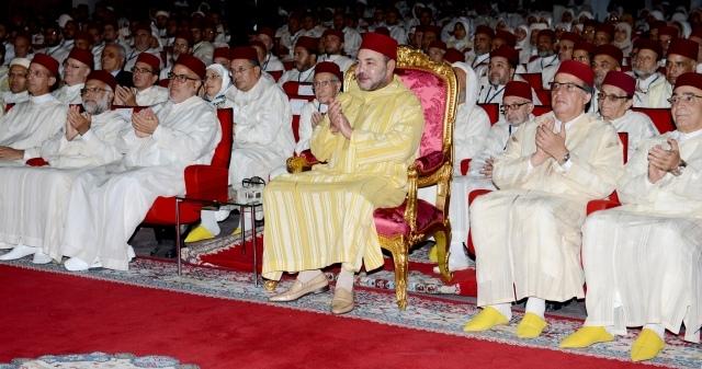 العاهل المغربي يترأس بالرباط مراسيم تقديم خطة دعم تعنى بالتأطير الديني