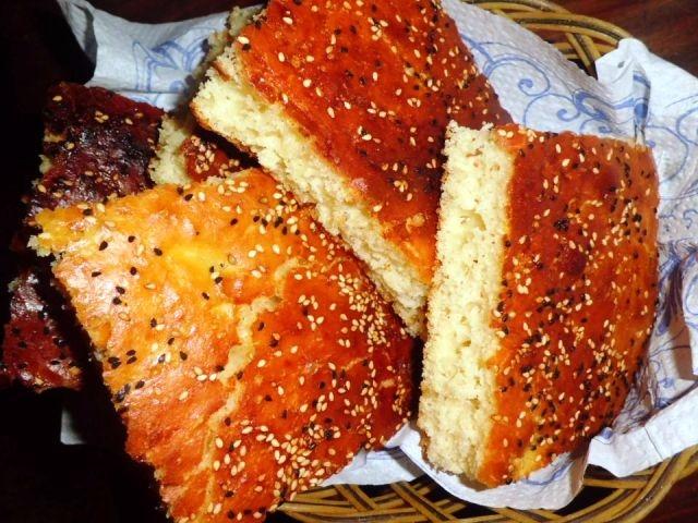 خبز الدار الحلو**بالفرينة** (مطبخ جزائري)