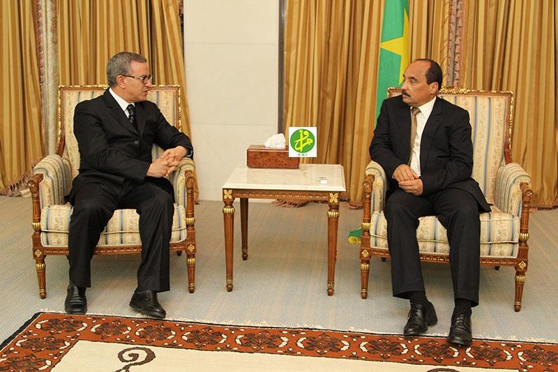 أوجار بعد استقباله من طرف الرئيس الموريتاني: الاستحقاقات الرئاسية الأخيرة جرت في جو ديمقراطي