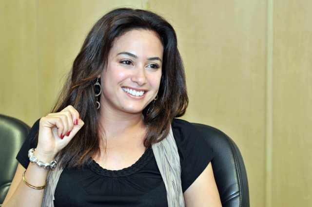 هند صبري تنفي التشابه بين مسلسلها وفيلم أحمد حلمي
