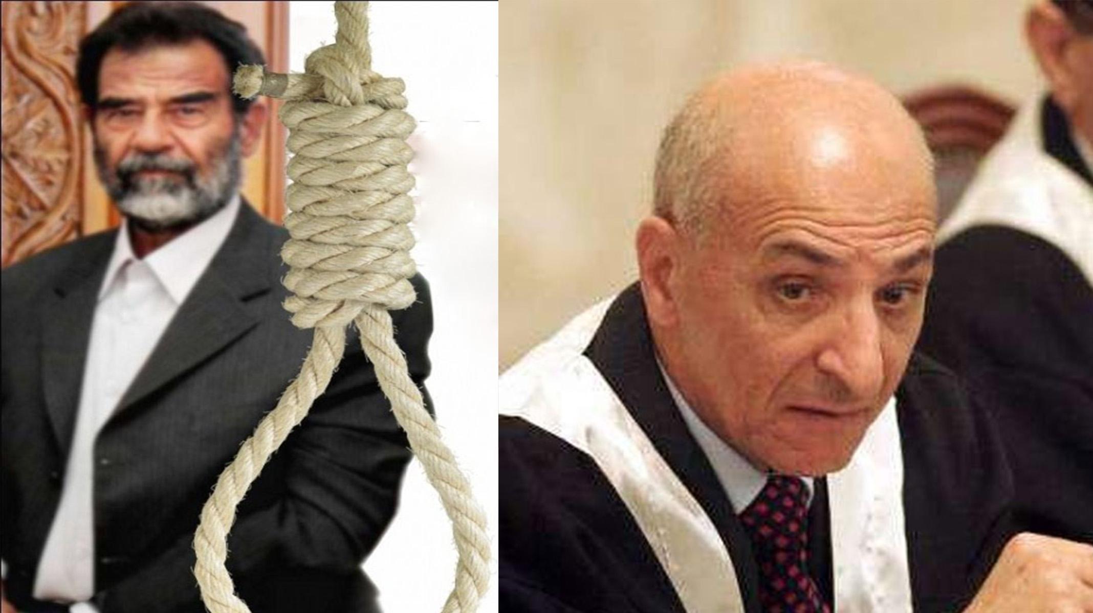 إعدام  رؤوف رشيد قاضي صدام حسين