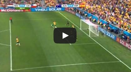 اسبانيا 3 - 0 استراليا