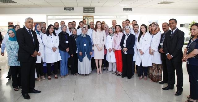 الأميرة للاسلمى تدشن مركز محاربة السرطان في مكناس