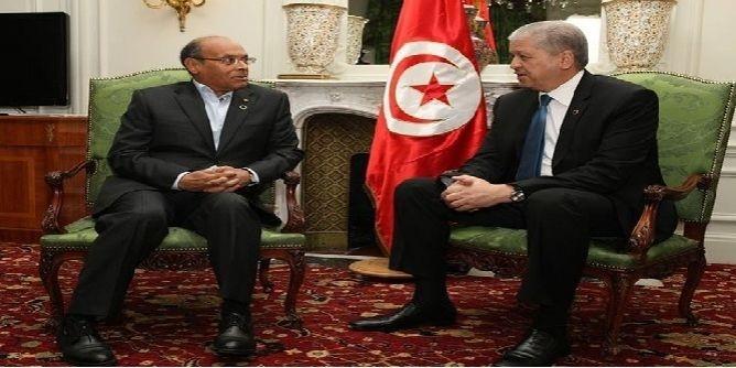 المرزوقي وسلال يؤكدان على ضرورة التنسيق من أجل أمن المنطقة