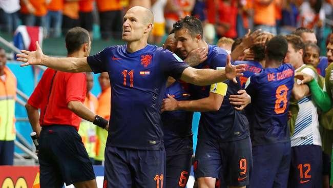 هولندا تسحق اسبانيا بخماسية قاسية