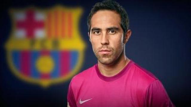 برشلونة يضم حارس منتخب الشيلي برافو