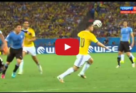 كولومبيا وأوروغواي 2-0