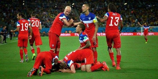 أمريكا تفوزعلى غانا وايران تتعادل مع نيجيريا