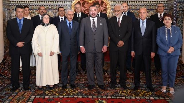 العاهل المغربي يستقبل رئيس مجلس النواب وأعضاء المكتب