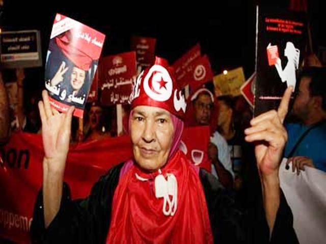 حملة تونسية لصياغة قانون يجرم العنف ضد المرأة