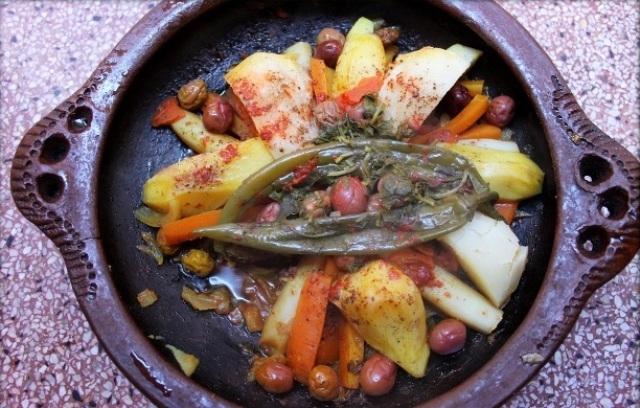 طاجين القديد (مطبخ مغربي)