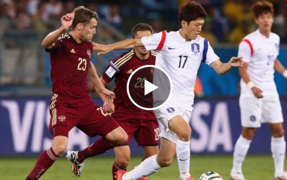 روسيا و كوريا: 1-1