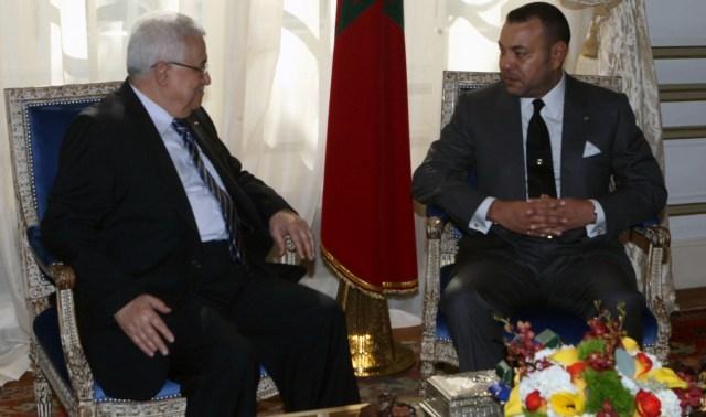 الملك محمد السادس يعبر للرئيس الفلسطيني عن دعم المغرب من أجل إنجاح المصالحة الفلسطينية