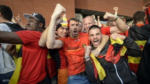 بلجيكي يفارق الحياة بعد فوز منتخب بلاده