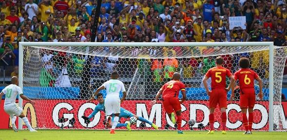 الجزائر وبلجيكا 1-2