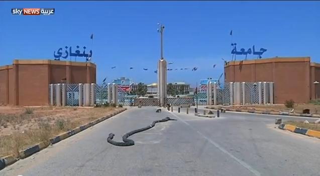 الاقتتال يشل الحياة في بنغازي