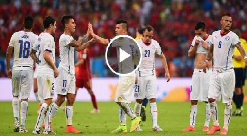 تشيلي 2-0 أسبانيا