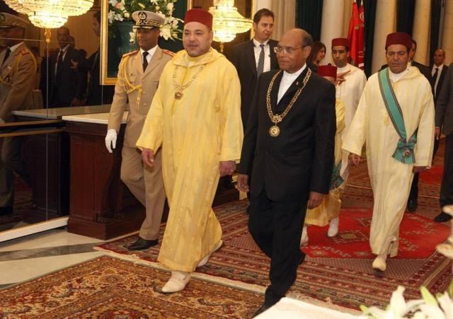 العاهل المغربي والرئيس المرزوقي يؤكدان تمسكهما بالاتحاد المغاربي كخيار استراتيجي