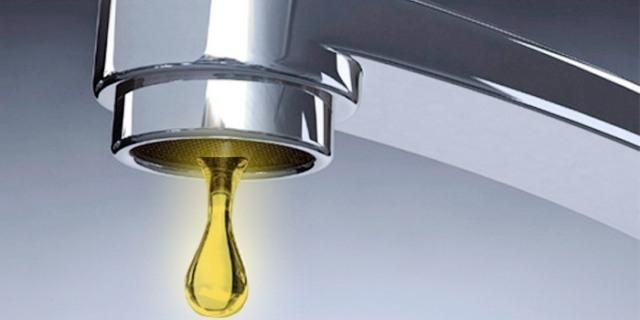 صنابير مياه في قرية أميركية تقطر ذهبا
