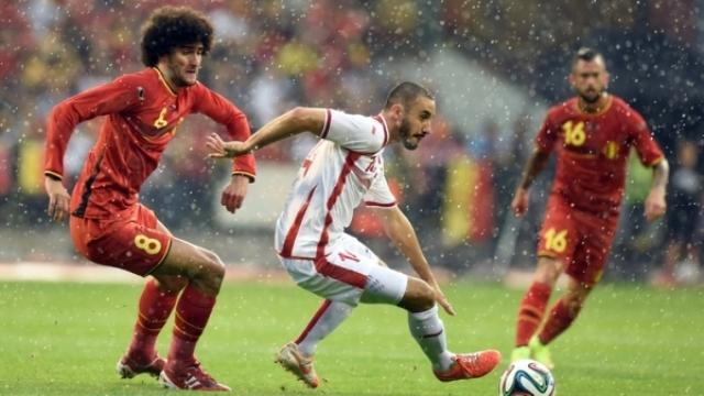 المنتخب التونسي يخسر بصعوبة أمام بلجيكا