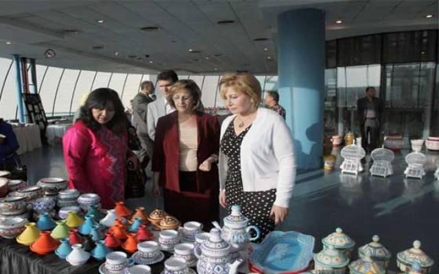 سفيرة تونس في عمان تفتتح معرض المنتوجات التونسية