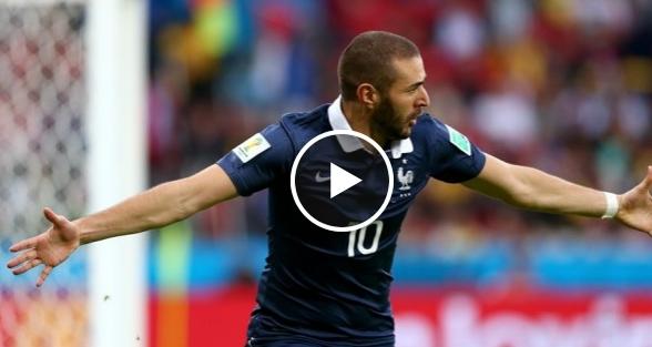 فرنسا 3-0 هندوراس