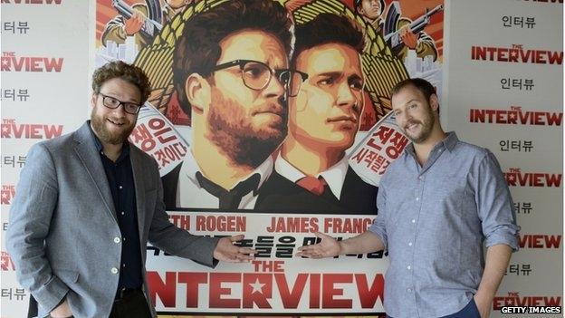 كوريا الشمالية منزعجة من فيلم أمريكي يسخر من زعيمها