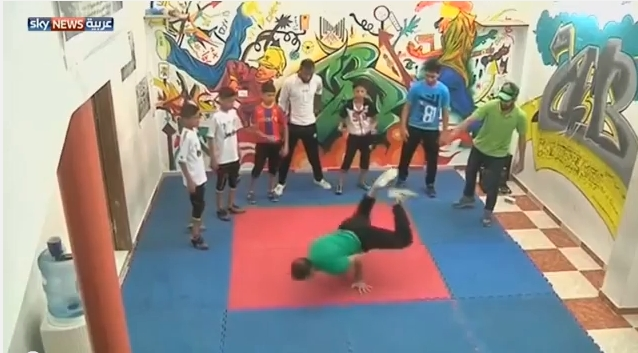 Break Dance في غزة