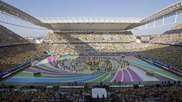 حفل افتتاح  متواضع وبسيط للمونديال بالبرازيل