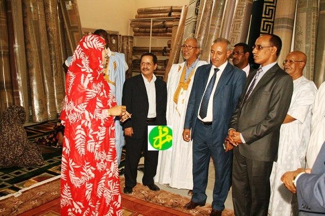 افتتاح معرض تجاري نسائي في نواكشوط